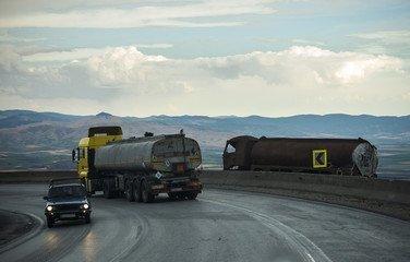 процесс оценки грузовиков