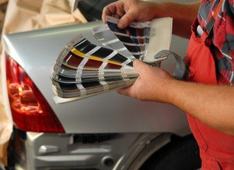 Экспертиза краски автомобиля.